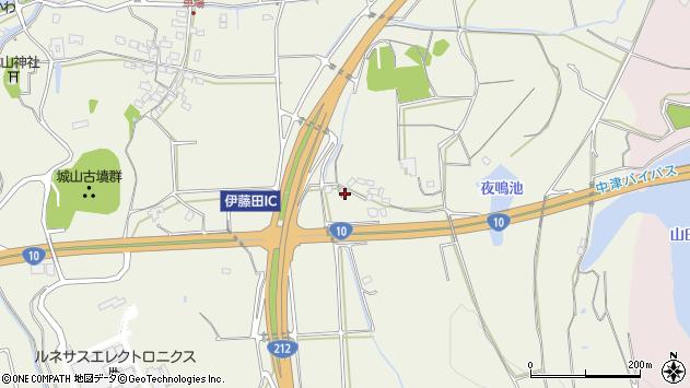 大分県中津市伊藤田1562周辺の地図
