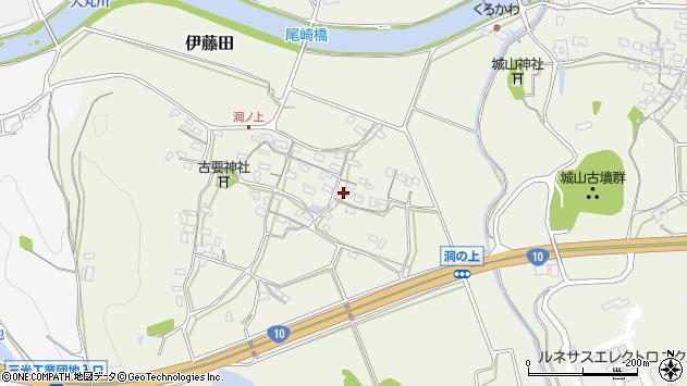 大分県中津市伊藤田147周辺の地図