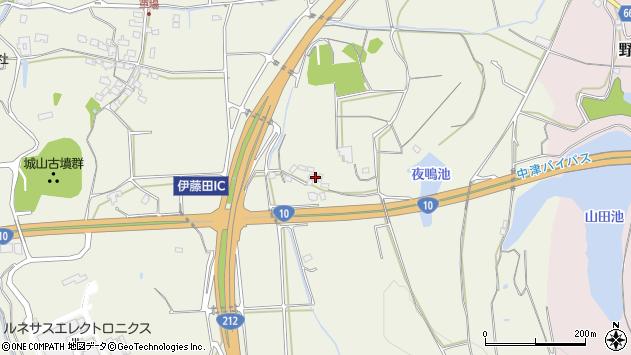 大分県中津市伊藤田1556周辺の地図