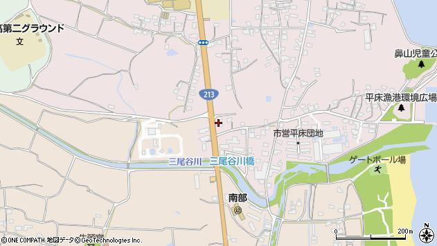 大分県国東市国東町鶴川1660周辺の地図
