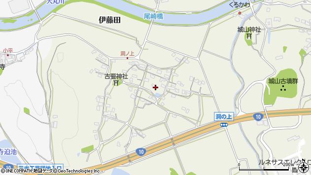 大分県中津市伊藤田127周辺の地図