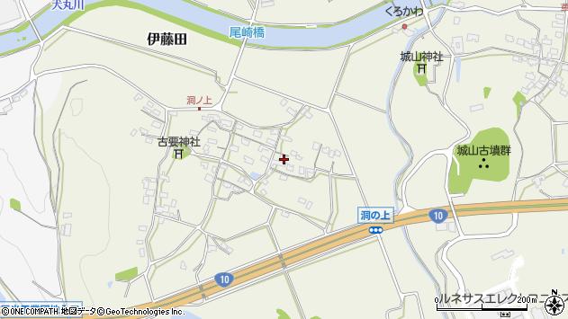 大分県中津市伊藤田146周辺の地図