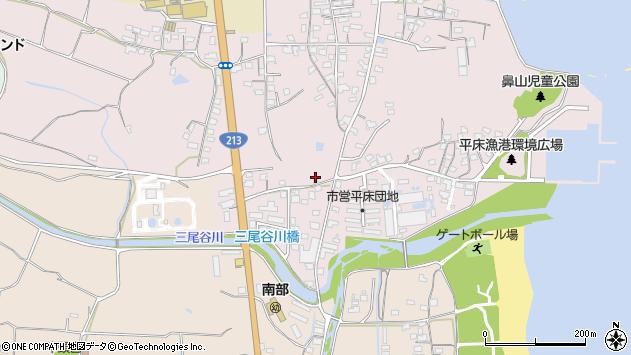 大分県国東市国東町鶴川1540周辺の地図