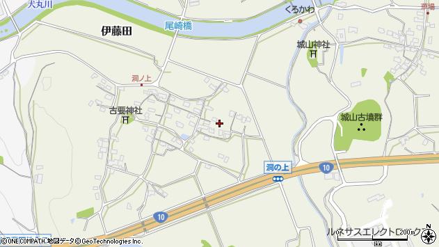 大分県中津市伊藤田150周辺の地図