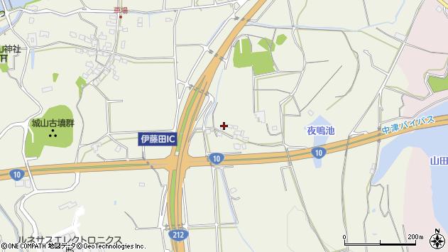 大分県中津市伊藤田1560周辺の地図