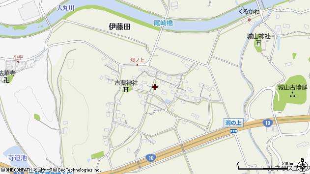 大分県中津市伊藤田122周辺の地図