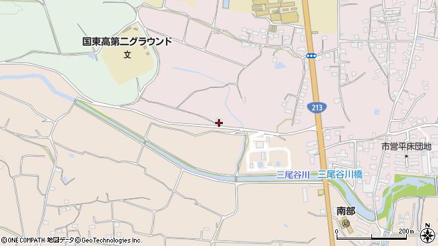 大分県国東市国東町鶴川2382周辺の地図
