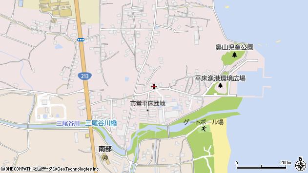 大分県国東市国東町鶴川1038周辺の地図