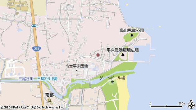 大分県国東市国東町鶴川965周辺の地図