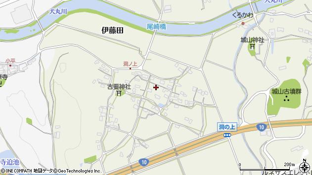 大分県中津市伊藤田123周辺の地図