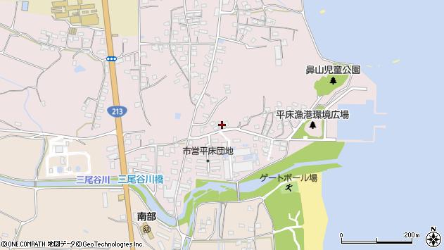 大分県国東市国東町鶴川1037周辺の地図