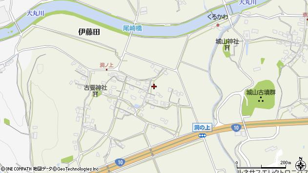 大分県中津市伊藤田348周辺の地図