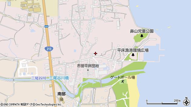 大分県国東市国東町鶴川1036周辺の地図