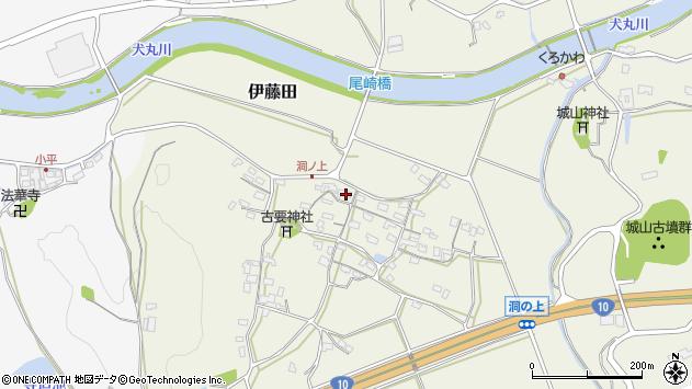 大分県中津市伊藤田225周辺の地図