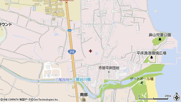 大分県国東市国東町鶴川興導寺周辺の地図