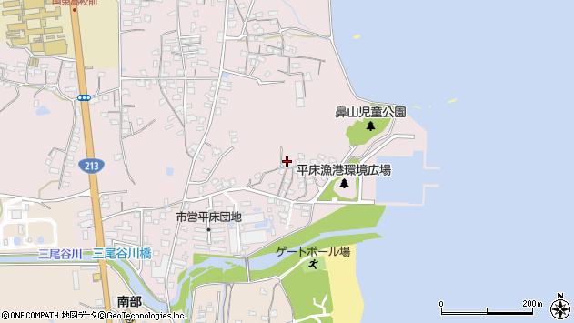 大分県国東市国東町鶴川986周辺の地図