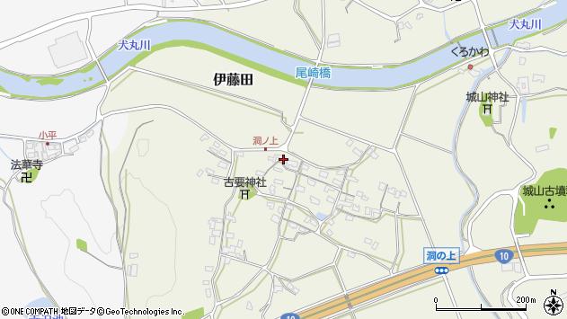 大分県中津市伊藤田226周辺の地図