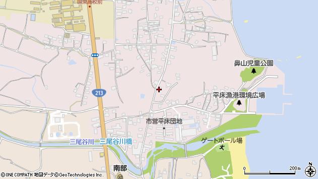 大分県国東市国東町鶴川1103周辺の地図