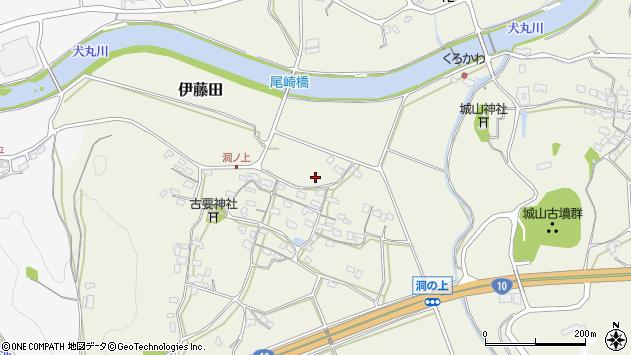 大分県中津市伊藤田121周辺の地図