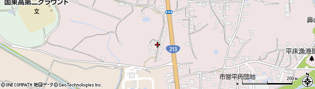 大分県国東市国東町鶴川2094周辺の地図