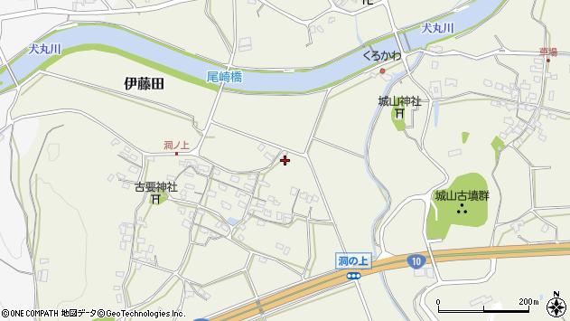大分県中津市伊藤田965周辺の地図