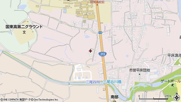 大分県国東市国東町鶴川2092周辺の地図
