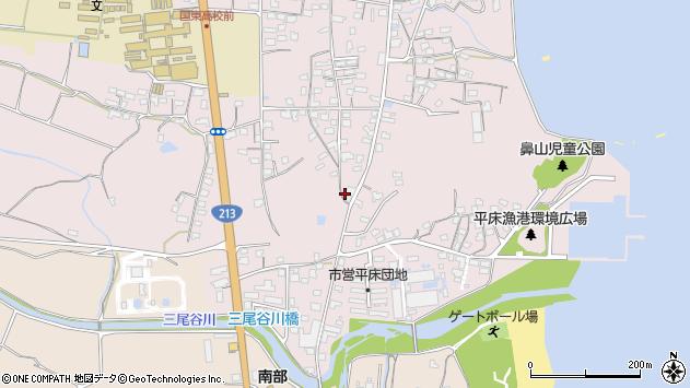 大分県国東市国東町鶴川1133周辺の地図