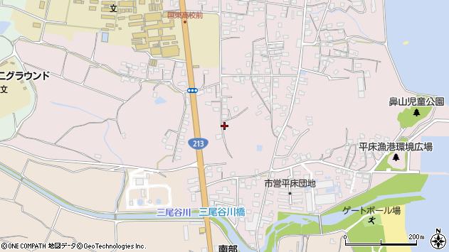 大分県国東市国東町鶴川1576周辺の地図