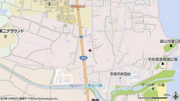 大分県国東市国東町鶴川1723周辺の地図