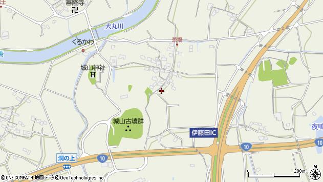 大分県中津市伊藤田1153周辺の地図