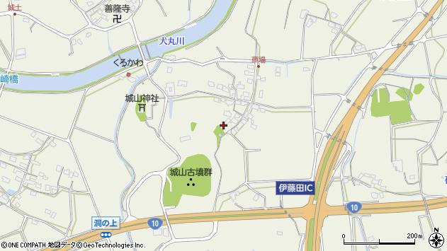 大分県中津市伊藤田1157周辺の地図