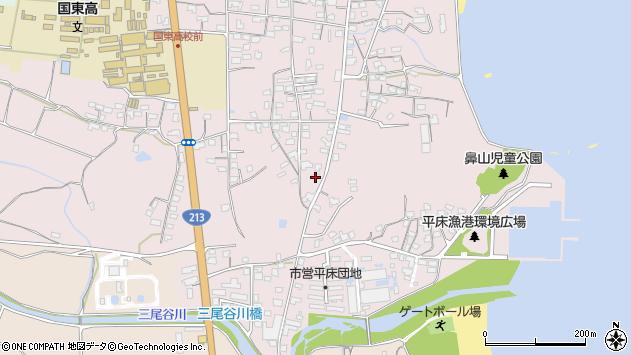 大分県国東市国東町鶴川1136周辺の地図