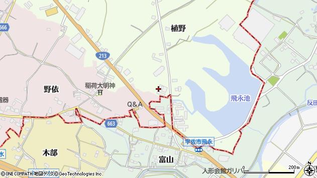 大分県中津市植野785周辺の地図
