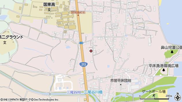 大分県国東市国東町鶴川1737周辺の地図