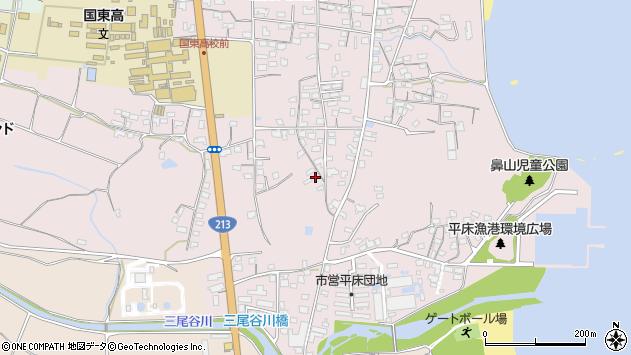 大分県国東市国東町鶴川1521周辺の地図