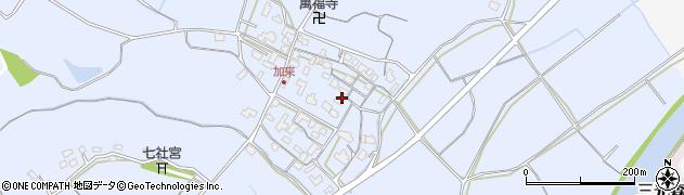大分県中津市加来682周辺の地図