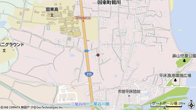 大分県国東市国東町鶴川1738周辺の地図