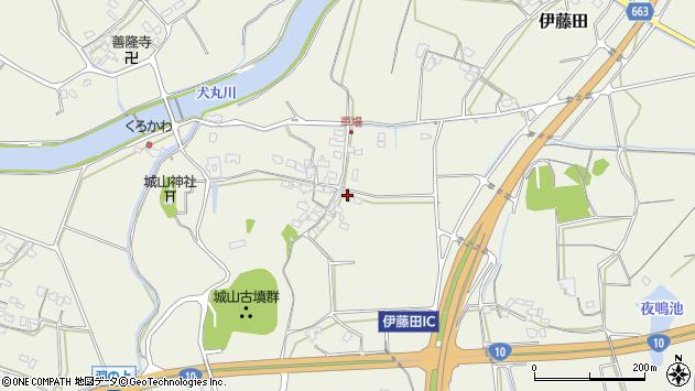 大分県中津市伊藤田1142周辺の地図