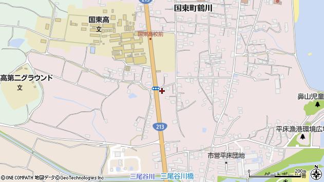 大分県国東市国東町鶴川1742周辺の地図