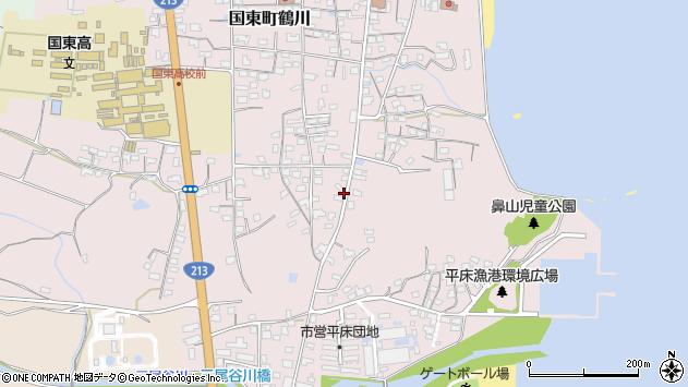 大分県国東市国東町鶴川1148周辺の地図