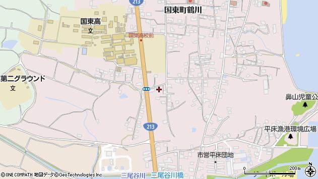 大分県国東市国東町鶴川1739周辺の地図
