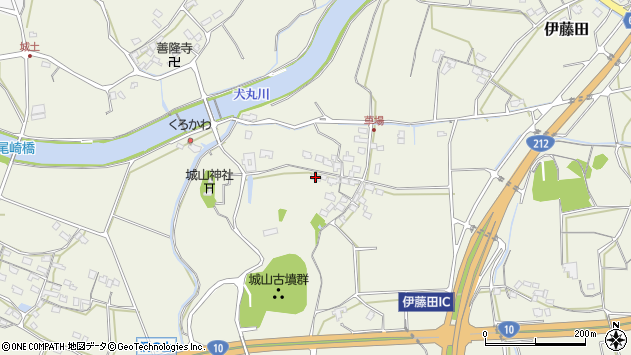 大分県中津市伊藤田1131周辺の地図