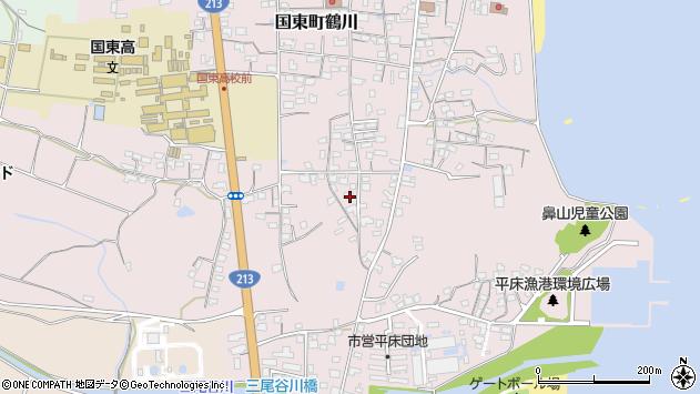 大分県国東市国東町鶴川1518周辺の地図