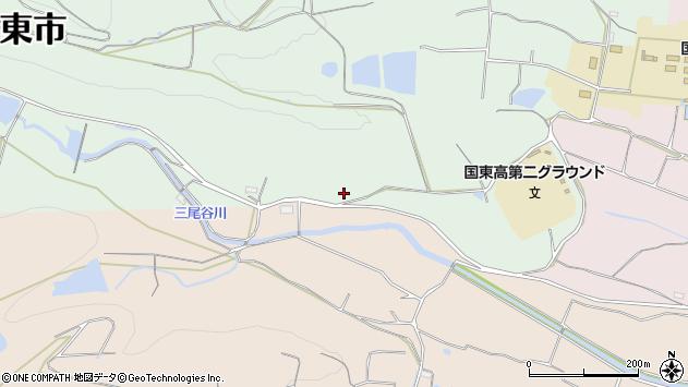 大分県国東市国東町安国寺2601周辺の地図