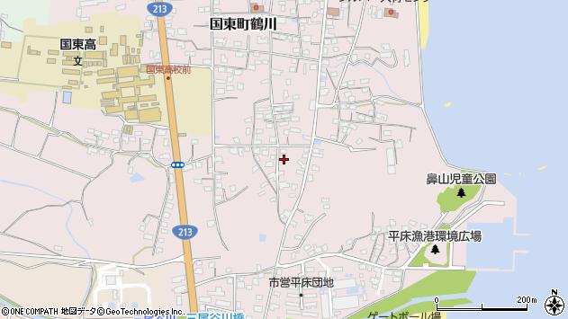 大分県国東市国東町鶴川1144周辺の地図