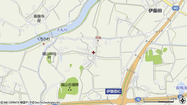 大分県中津市伊藤田1123周辺の地図