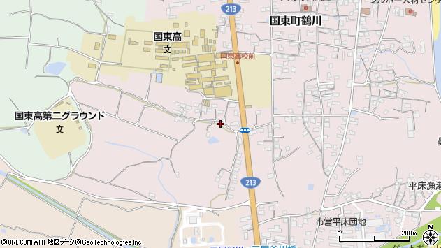 大分県国東市国東町鶴川2016周辺の地図