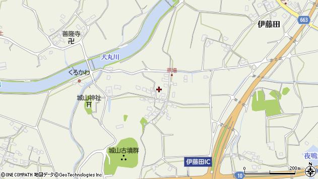 大分県中津市伊藤田1125周辺の地図