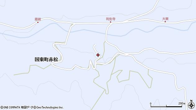 大分県国東市国東町赤松2932周辺の地図
