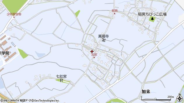 大分県中津市加来894周辺の地図
